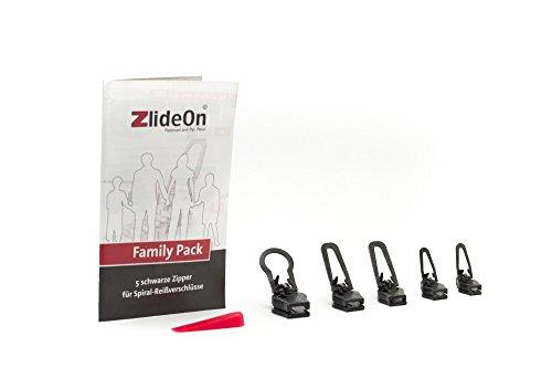 ZlideOn Family Pack (Kunststoff, Metall), schwarz