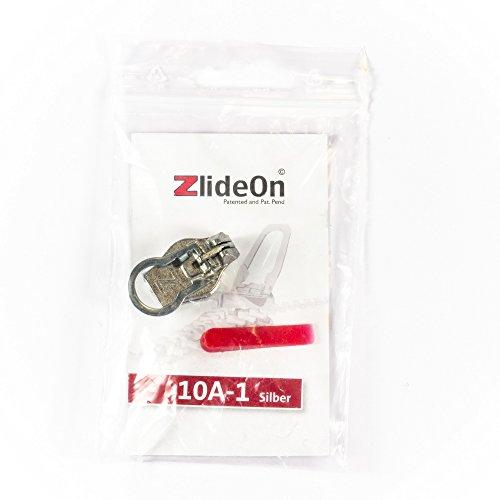 ZlideOn 10A-1, silber, mit Öffnungshilfe