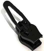 ZlideOn Zipper 5B Schwarz für Reißverschluss in Metall u. Kunststoff